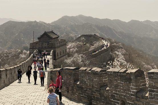 Auf geht's nach Peking.